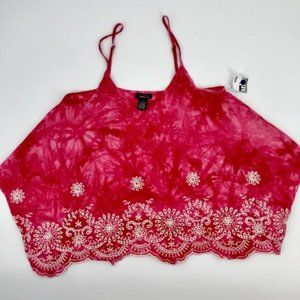 💋4/$25 Rue 21 Boho  Embroidered Top *NWOT* sz S